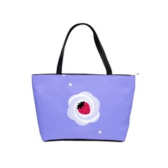Cake Top Purple Classic Shoulder Handbag