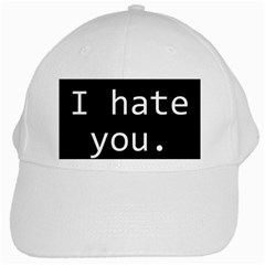 Ihy1500x1500 White Baseball Cap