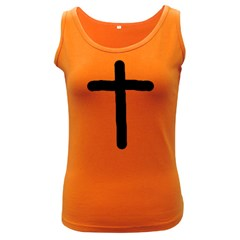 Crosstrans Dark Colored Womens'' Tank Top