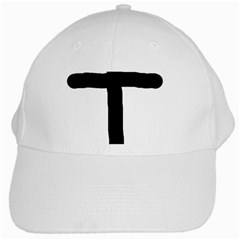 Crosstrans White Baseball Cap