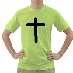 Crosstrans Green Mens  T-shirt