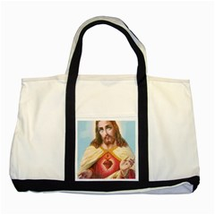 Jesusbackpack Two Toned Tote Bag