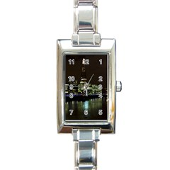 The Shard and Southbank London Classic Elegant Ladies Watch (Rectangle)