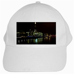 The Shard And Southbank London White Baseball Cap