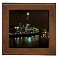 The Shard and Southbank London Framed Ceramic Tile