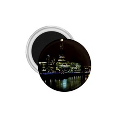 The Shard and Southbank London Small Magnet (Round)