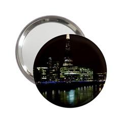 The Shard and Southbank London Handbag Mirror