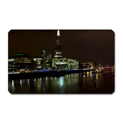 The Shard and Southbank London Large Sticker Magnet (Rectangle)