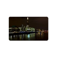 The Shard and Southbank London Name Card Sticker Magnet
