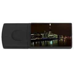 The Shard and Southbank London 1Gb USB Flash Drive (Rectangle)