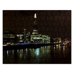 The Shard And Southbank London Jigsaw Puzzle (rectangle)