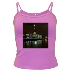The Shard and Southbank London Dark Colored Spaghetti Top