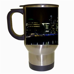 The Shard And Southbank London White Travel Mug