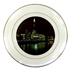 The Shard and Southbank London Porcelain Display Plate