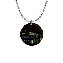 The Shard And Southbank London Mini Button Necklace