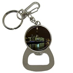 The Shard and Southbank London Key Chain with Bottle Opener