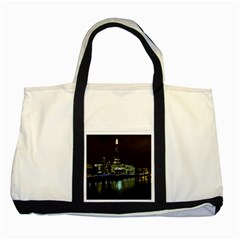 The Shard and Southbank London Two Toned Tote Bag