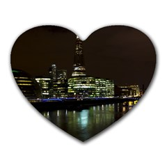 The Shard and Southbank London Mouse Pad (Heart)