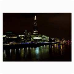 The Shard And Southbank London Single Sided Handkerchief