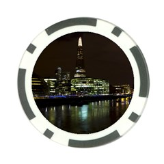 The Shard and Southbank London Poker Chip