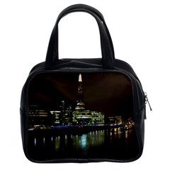 The Shard and Southbank London Twin-sided Satched Handbag