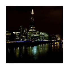 The Shard And Southbank London Face Towel