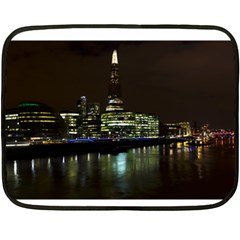 The Shard And Southbank London Twin Sided Mini Fleece Blanket