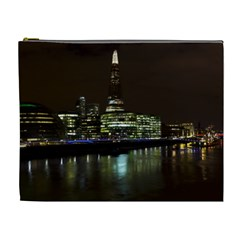 The Shard and Southbank London Extra Large Makeup Purse
