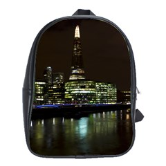 The Shard and Southbank London Large School Backpack