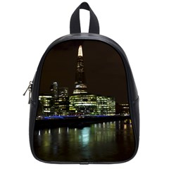 The Shard And Southbank London Small School Backpack
