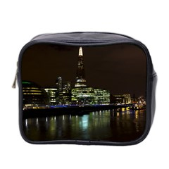 The Shard And Southbank London Twin Sided Cosmetic Case