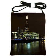The Shard and Southbank London Cross Shoulder Sling Bag