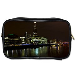 The Shard and Southbank London Twin-sided Personal Care Bag