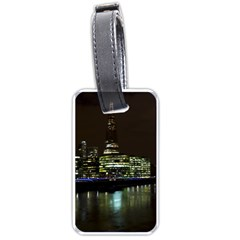 The Shard and Southbank London Single-sided Luggage Tag
