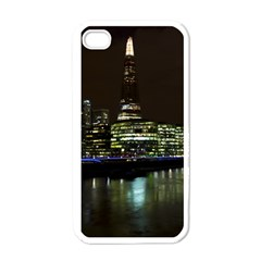 The Shard and Southbank London White Apple iPhone 4 Case