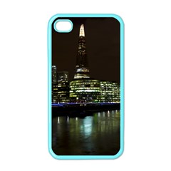 The Shard and Southbank London Apple iPhone 4 Case (Color)