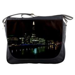 The Shard And Southbank London Messenger Bag