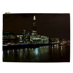 The Shard and Southbank London Cosmetic Bag (XXL)