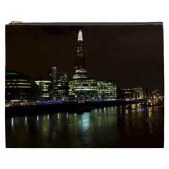 The Shard and Southbank London Cosmetic Bag (XXXL)