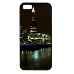 The Shard and Southbank London Apple iPhone 5 Seamless Case (Black)
