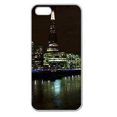 The Shard And Southbank London Apple Seamless Iphone 5 Case (clear)
