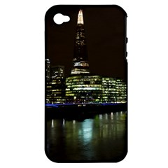 The Shard and Southbank London Apple iPhone 4/4S Hardshell Case (PC+Silicone)