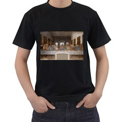 Lastsupper Black Mens'' T Shirt