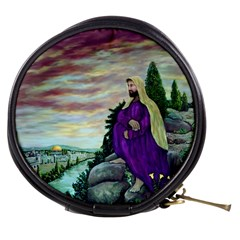Jesus Overlooking Jerusalem by Ave Hurley  Mini Makeup Case