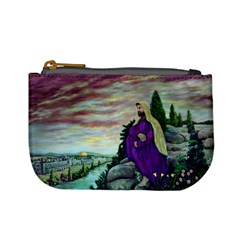 Jesus Overlooking Jerusalem By Ave Hurley  Coin Change Purse