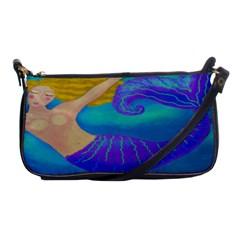 Blonde Mermaid Clutch Handbag