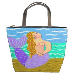 Purple Mermaid Small Handbag