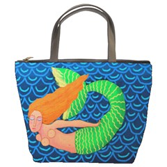 Mermaid In The Ocean Small Handbag