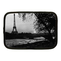 Vintage France Paris Eiffel tour & Seine at dusk 1970 10  Netbook Case