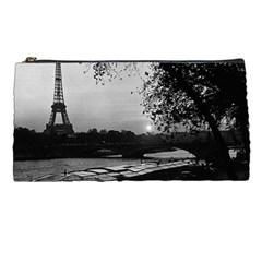 Vintage France Paris Eiffel Tour & Seine At Dusk 1970 Pencil Case